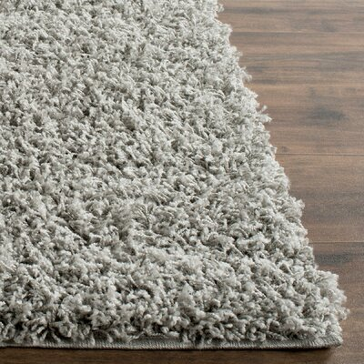 Wilder Light Grey Area Rug Rug Size: 3 x 5