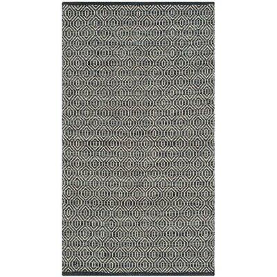 Shevchenko Place Hand-Woven Ivory / Dark Grey Area Rug Rug Size: Runner 23 x 7