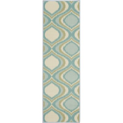 Doyers Blue Area Rug Rug Size: Runner 2 x 66