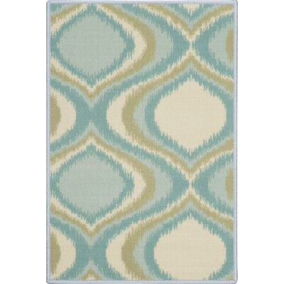 Doyers Blue Area Rug Rug Size: Rectangle 2 x 3