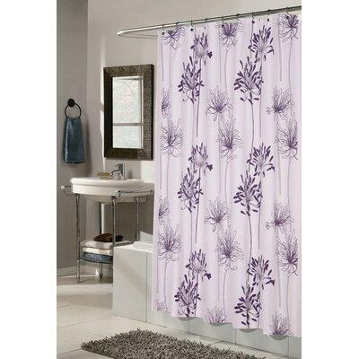 Brinckerhoff Shower Curtain Color: White and Indigo