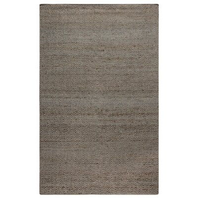 Waverley Hand-Woven Gray Blue Area Rug Size: Rectangle 8 x 10
