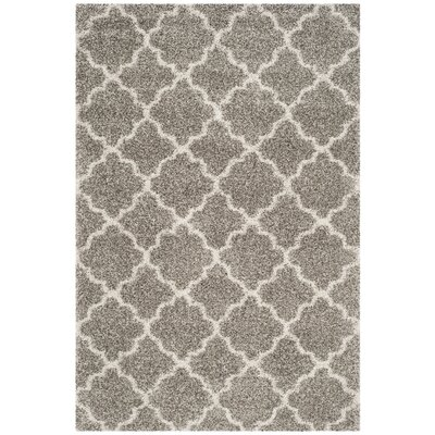 Klar Gray/Ivory Area Rug Rug Size: Rectangle 11 x 15