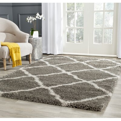 Cherry Street Grey / Taupe Area Rug Rug Size: Rectangle 2'-3