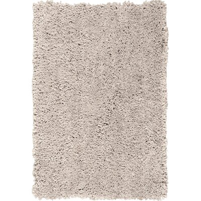 Lexington Avenue Hand-Tufted Silver Area Rug Rug Size: 5 x 7