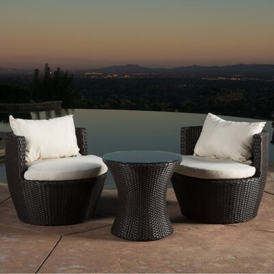Collison 3 Piece Seating Group with Cushion