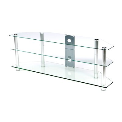 Bruckner 60 TV Stand Color: Silver, Size: 60