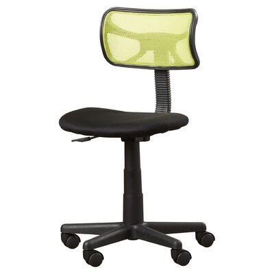 Amick Mid-Back Mesh Desk Chair Upholstery: Lime