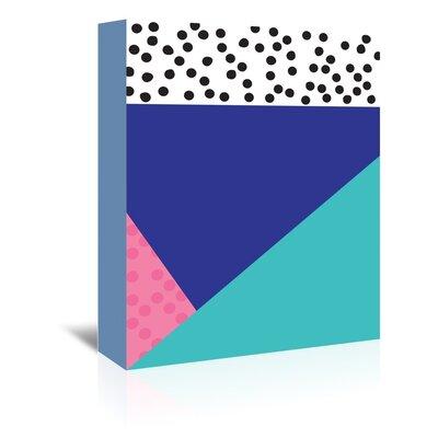 Cabrini Dotti Two Graphic Art on Wrapped Canvas