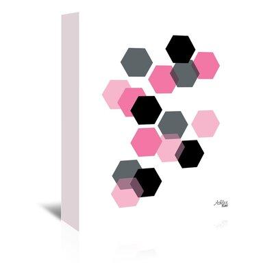 Cabrini Geometric Hexagon Graphic Art on Wrapped Canvas
