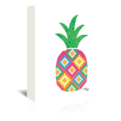 Cabrini Mexicano Pineapple Graphic Art on Wrapped Canvas