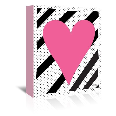 Cabrini Heart Graphic Art on Wrapped Canvas