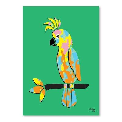 Cabrini Crested Cockatoo Graphic Art