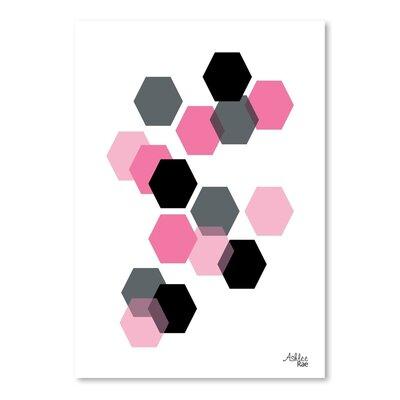 Cabrini Geometric Hexagon Graphic Art