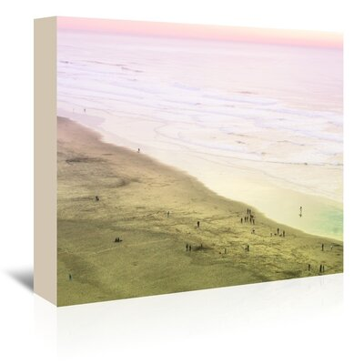 Ocean Beach Photographic Print on Wrapped Canvas Size: 11