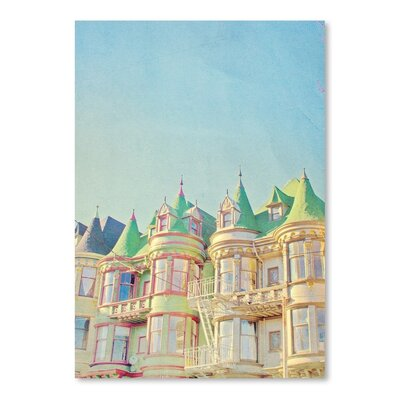 San Francisco Tops 2 Photographic Print on Wrapped Canvas Size: 14