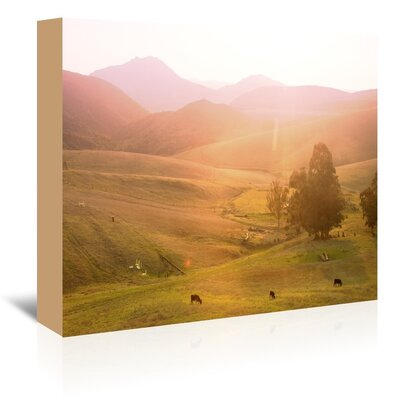 Cows Photographic Print on Wrapped Canvas