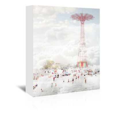 Brooklyn Eiffel Tower Photographic Print on Wrapped Canvas