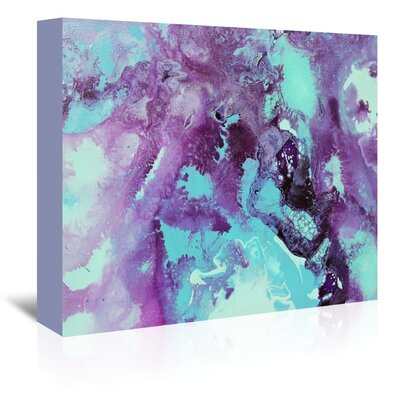 Bubbles Painting Print on Wrapped Canvas