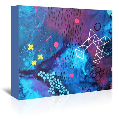 X Marks the Spot Painting Print on Wrapped Canvas