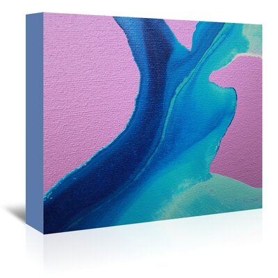 Body of Water Painting Print on Wrapped Canvas