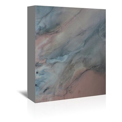 Dark Painting Print on Wrapped Canvas