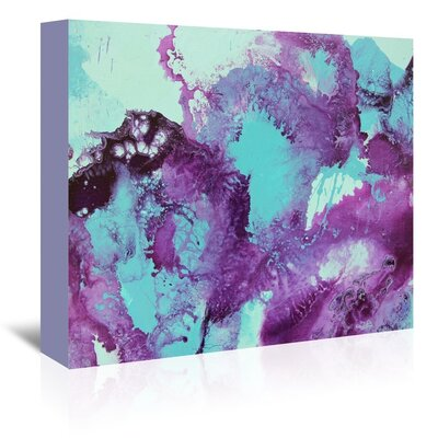 Bubbles 2 Painting Print on Wrapped Canvas