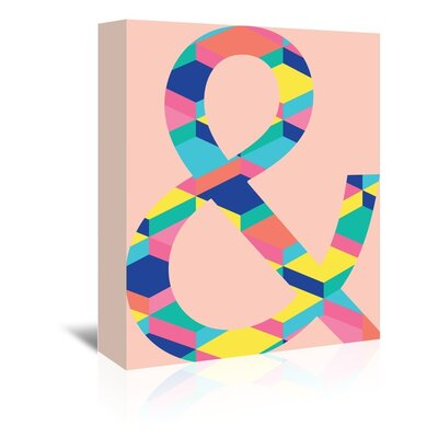 Cabrini Amperstand Graphic Art on Wrapped Canvas