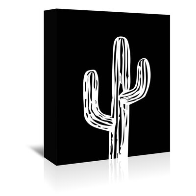 Cabrini Cactus on Graphic Art on Wrapped Canvas