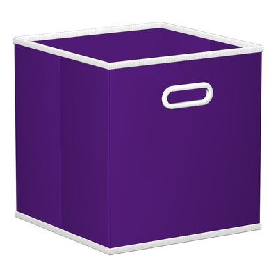 Elwell Fabric Storage Drawer Color: Purple