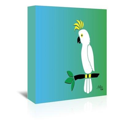 Cabrini Cockatoo Graphic Art on Wrapped Canvas