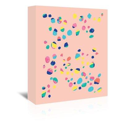 Cabrini Confetti Graphic Art on Wrapped Canvas