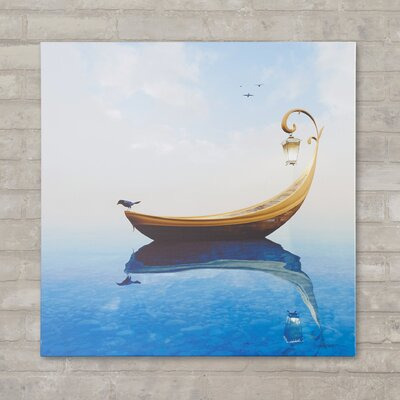 Narcissism Graphic Art on Canvas Size: 10