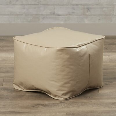 Abraham Bean Bag Chair Upholstery: Cobblestone
