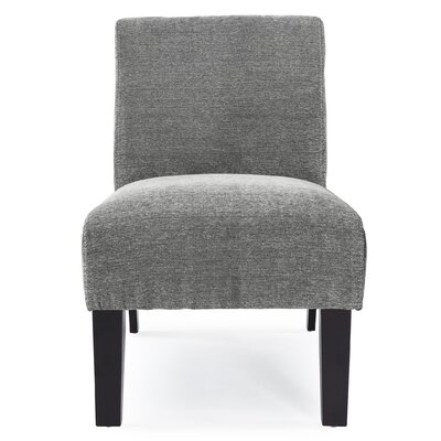 Arrandale Slipper Chair Upholstery: Charcoal