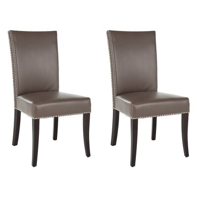 Glenmore Upholstered Dining Chair Color: Grey