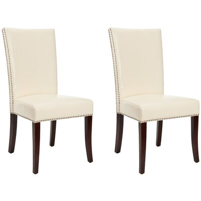 Glenmore Upholstered Dining Chair Color: Cream