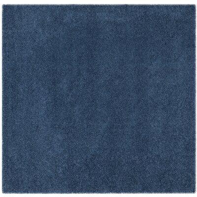 Van Horne Blue Area Rug Rug Size: Square 67 x 67
