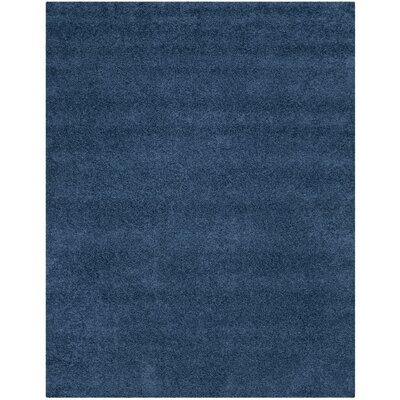 Van Horne Blue Area Rug Rug Size: Rectangle 8 x 10