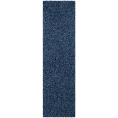 Van Horne Blue Area Rug Rug Size: Runner 23 x 8