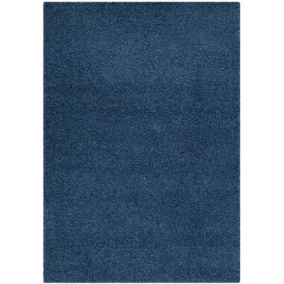 Van Horne Blue Area Rug Rug Size: Rectangle 53 x 76