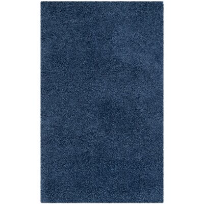 Van Horne Blue Area Rug Rug Size: Rectangle 67 x 96