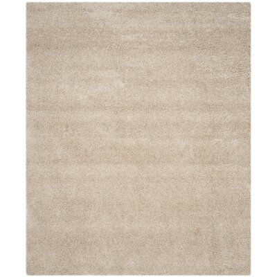 Van Horne Sand Area Rug Rug Size: Rectangle 53 x 76