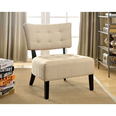 Van Reipen Slipper Chair Color: Ivory