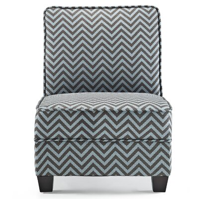 La Mott Slipper Chair Upholstery: Teal