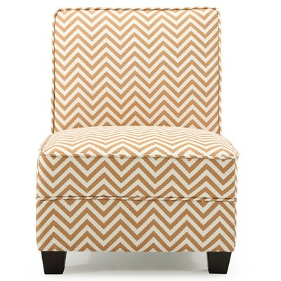 La Mott Slipper Chair Upholstery: Orange