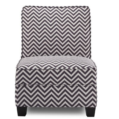 La Mott Slipper Chair Upholstery: Grey