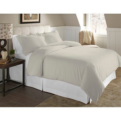 Adriel 3 Piece Duvet Cover Set Size: King/California King, Color: Silver Gray