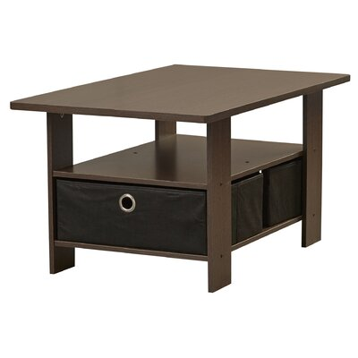 Kenton Coffee Table Finish: Dark Brown / Black
