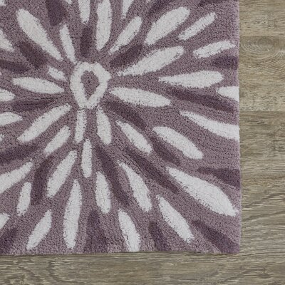 Koch Bath Rug Color: Purple